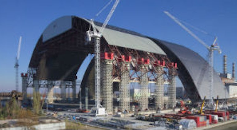 Conference Secures Funding For Completion Of Chernobyl New Safe Confinement