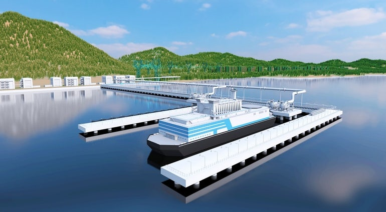 Rosatom Signs Agreement That Could Lead To Floating Reactors For Far East Minerals Deposit