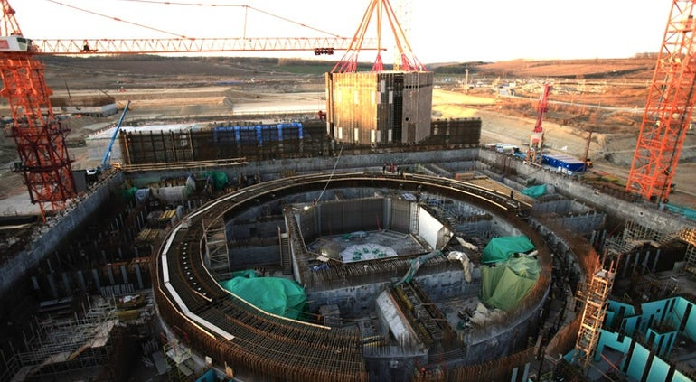 Core Catcher Installed At Generation III+ Kursk 2-2