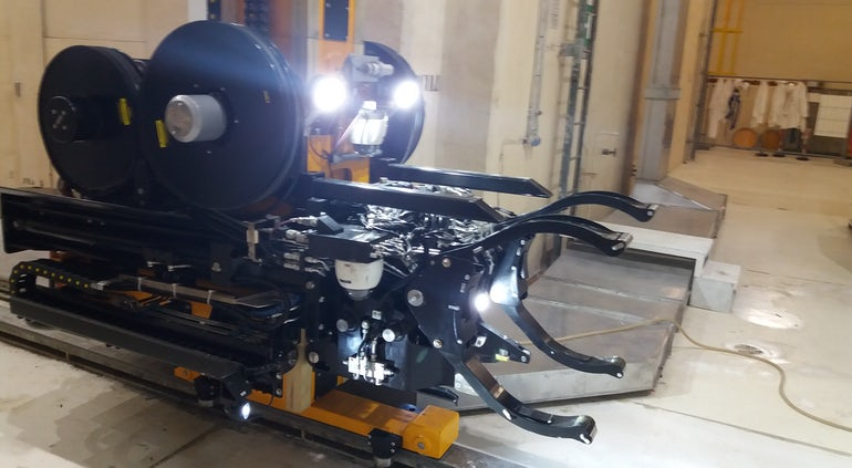Ansaldo Nuclear Uses Bespoke Robot To Recover Caorso Radioactive Waste Drums