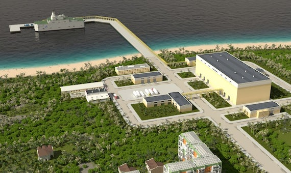 Rosatom Aims To Develop 'Tropical' Floating Plant For Desalination Use