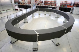 Core Of Second Superconducting Magnet Completed In Italy
