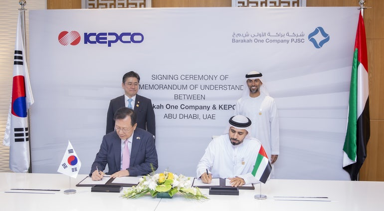 Barakah One Company And Kepco To Explore New Nuclear Projects