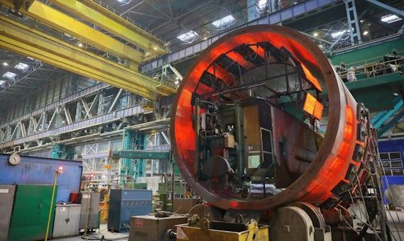 Construction Begins Of RPV For Kursk 2-2 VVER-TOI