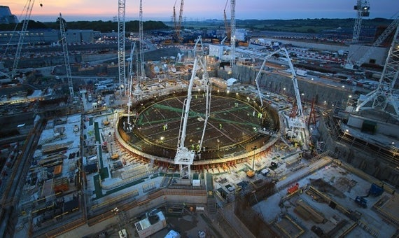 EDF Energy Announces Completion Of Base For First Reactor