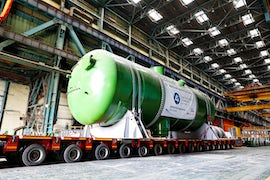 Russia Ships Steam Generator For Second Turkey Reactor