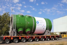 Russia Ships RPV For First Turkey Reactor