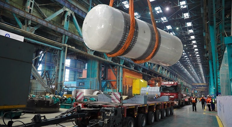 Russia Ships RPV Internals For Rooppur-1