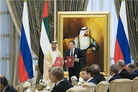 UAE Renews Cooperation Agreement With Russia
