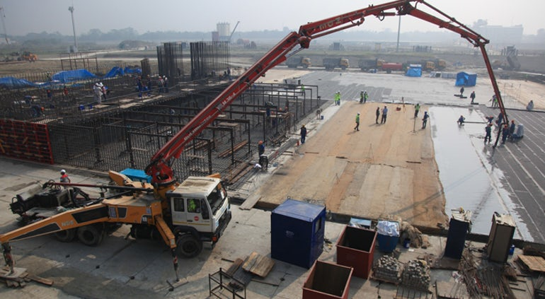 First Concrete Poured For Unit 1 At Bangladesh's Rooppur