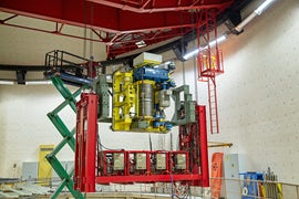 Finland Company Completes Refurbishment Of Research Reactor Crane