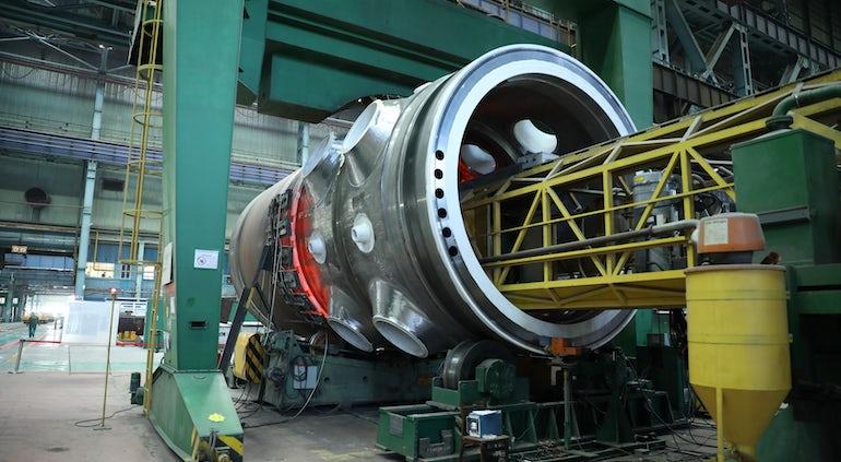 Atomenergomash Completes Welding Of Reactor Vessel For Turkey's Akkuyu-1 VVER
