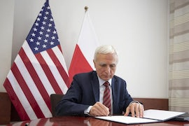 Minister Completes Signing Of 'Historic' Nuclear Agreement With US