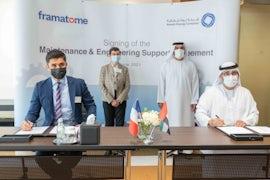 Nawah And Framatome Sign Barakah Services Agreement