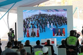 Presidents Launch Construction Of Third Unit At Turkey Nuclear Station