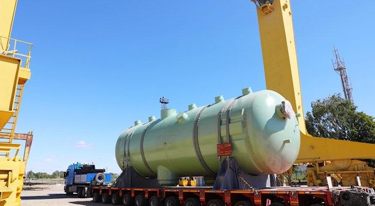 Russia Ships Last Of Four Steam Generators For Kudankulam-4