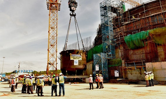 Core Catcher Installed At Kudankulam-3, Says Russia