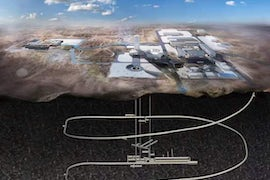 Construction Begins Of $422M Underground Laboratory For Repository Research