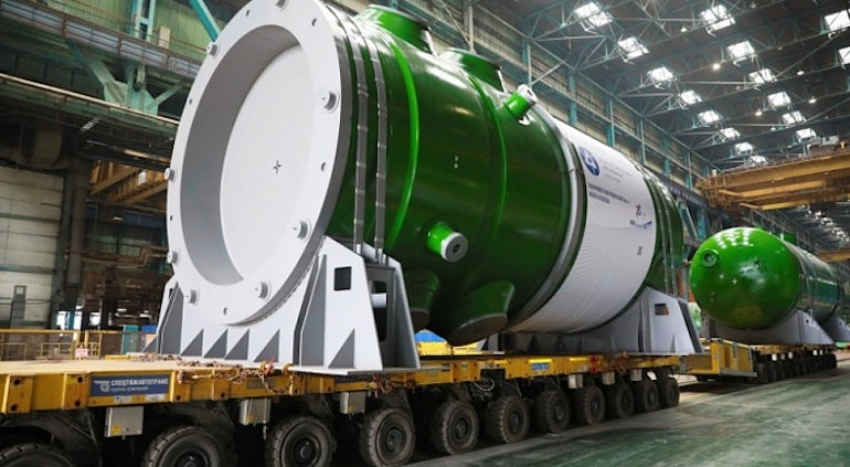 Russia Delivers RPV And Steam Generator For Rooppur-1