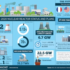 Infographic: India Unlikely To Meet Ambitious Nuclear Targets