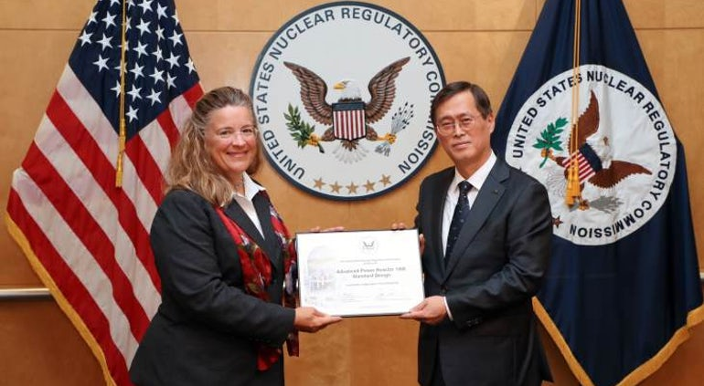 South Korean Reactor Design Receives US Certification
