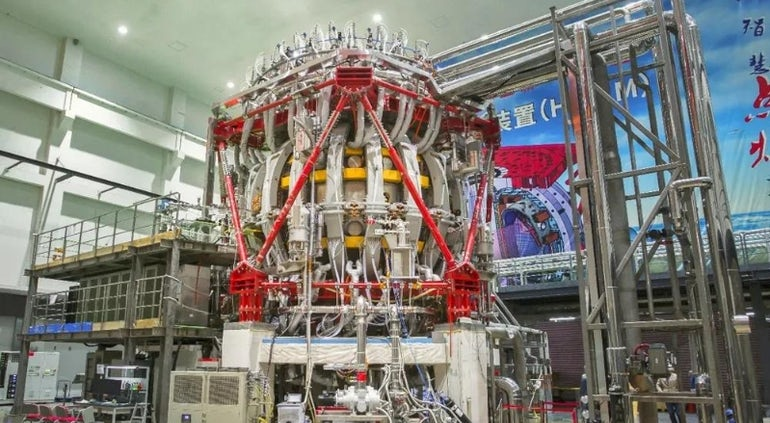 China Commissions HL-2M Reactor