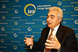 IEA Head Says Major Reactor Construction Programme Could Be Needed To Help Meet Climate Goals