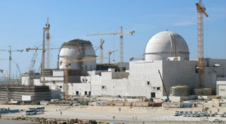 Fuel Loading And Operation Of UAE's Barakah-1 Delayed Until 2019 Or 2020