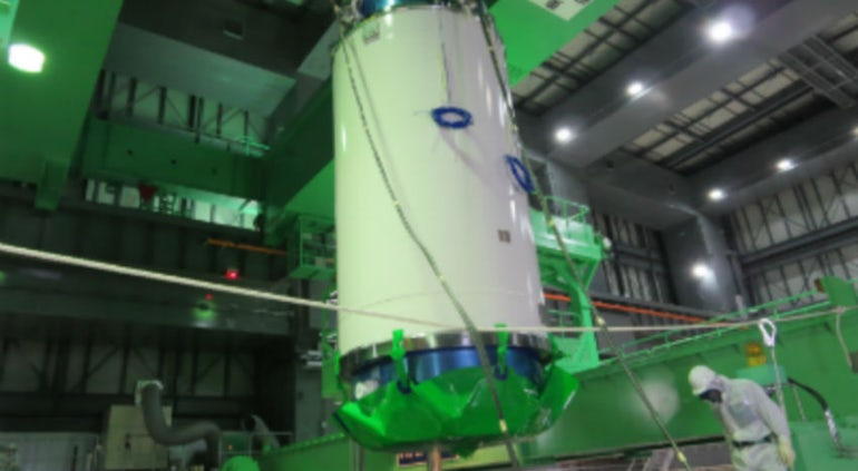 Tepco Begins Spent Fuel Removal From Fukushima-Daiichi Unit 3 Cooling Pool