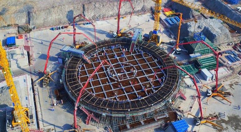 Construction Of China's Fangchenggang-4 Hualong One Reactor Begins