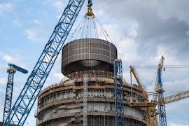 Final Module Placed Atop Containment Vessel At Unit 3