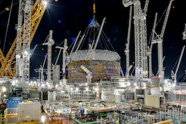 Five Years After Go-Ahead, Nuclear Project Is Recovering From Shock Of Covid