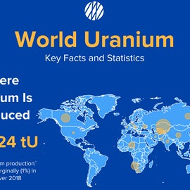 Infographic / World Uranium: Key Facts And Statistics
