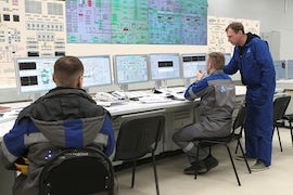 Leningrad 2-2 Synchronised To Grid And Delivering Electrical Energy