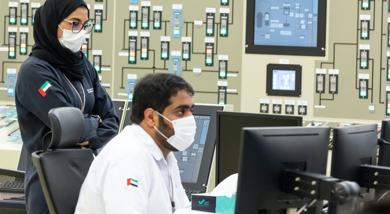 Unit 2 At Arab World's First Nuclear Station Connected To Grid