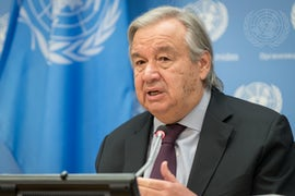 As US Returns To Paris Agreement, UN Chief Welcomes 'New Era Of New Leadership'