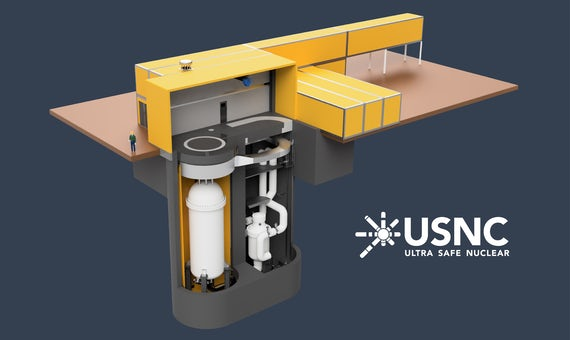 University Of Illinois Applies For Licence To Build USNC Microreactor On Campus