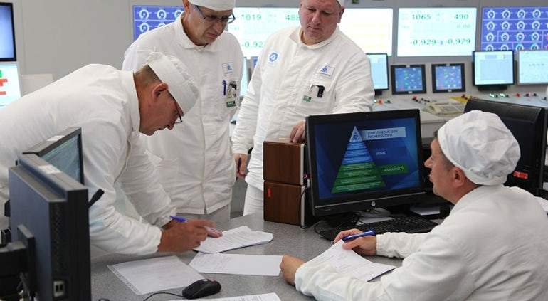 WANO Completes Mission At Smolensk Nuclear Station