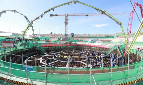 Construction Begins Of First 'Linglong One' Small Modular Reactor