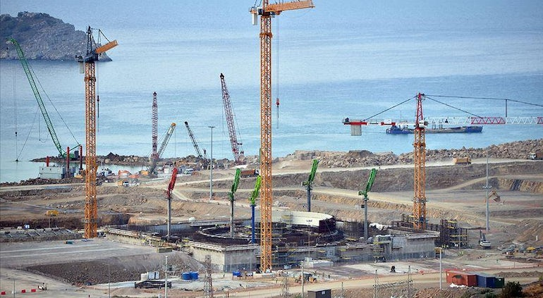 First Concrete Pouring Has Begun For Akkuyu-2, Says Minister