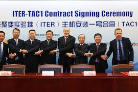 China-led Consortium Awarded Major Iter Contract