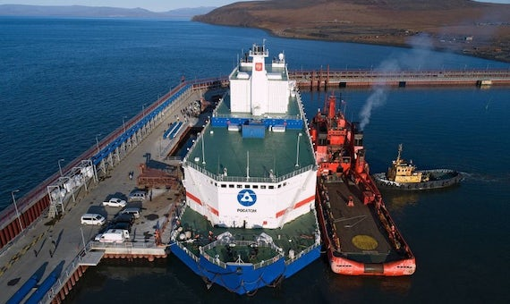 Russia's Floating Nuclear Plant Produces First Electricity For Chukotka