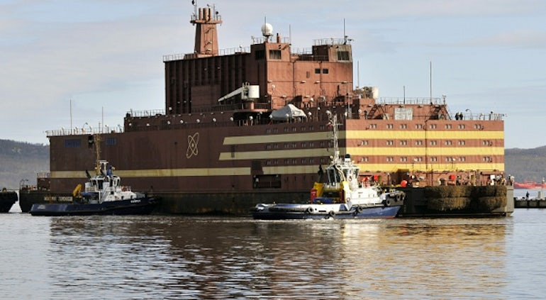 Russia Completes Reactor Trials On First Floating Nuclear Station